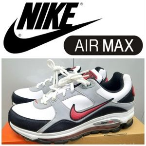 NIKE AIR MAX BRS 1000 MEN'S SZ 7.5 WHITE/RED/GREY